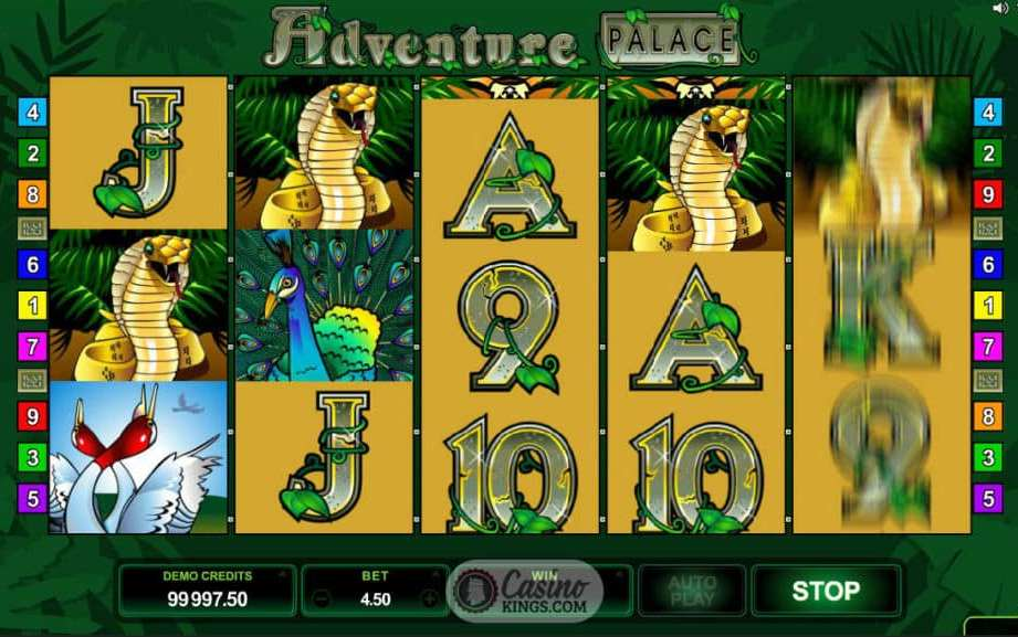 Adventure Palace casino game